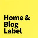 Home & Blog Label