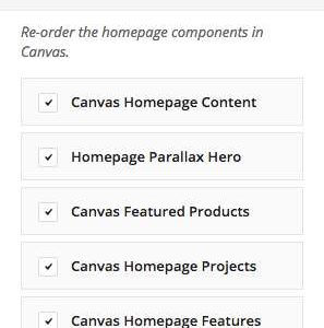 Homepage Control