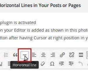Horizontal Line Styles