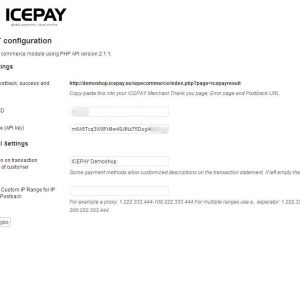 ICEPAY WP e-Commerce Online Payment plugin