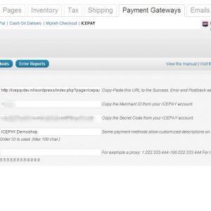 ICEPAY WordPress WooCommerce Online Payment plugin