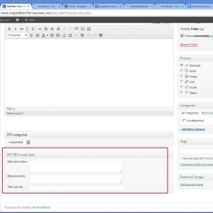 Plugin Name: IFS Seo Simple