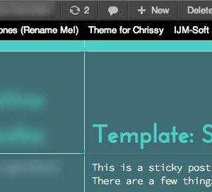 IJM Theme Switcher Bar