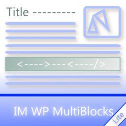 IM WP MultiBlocks Lite
