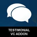 Interactive Testimonial Showcase Visual composer Addon