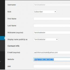 JP User Registration Blacklist