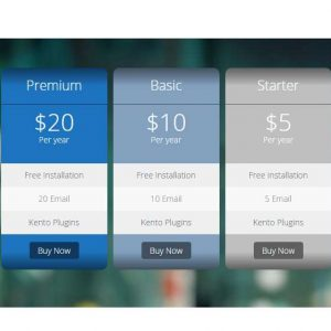 Pricing Tables Free