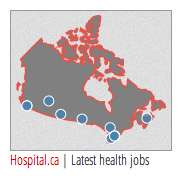 Latest Canadian Healthcare Jobs sidebar widget