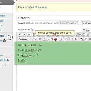 WordPress List Articles