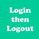 Login or Logout Menu Item