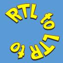 LTR  RTL Admin content