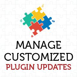 Manage Customized Plugin Updates