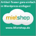 Mietshop Shopsystem
