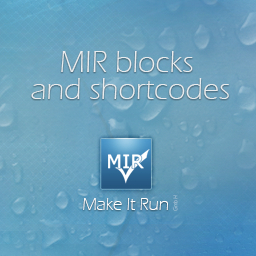 MIR blocks and shortcodes