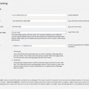 MMA Call Tracking