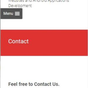 Mobile Contact Buttons