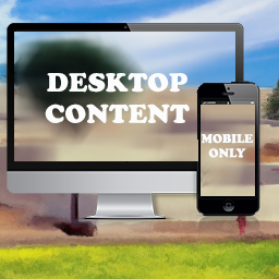 WordPress Mobile only & Desktop Only Content