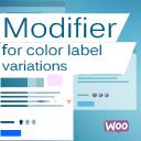 Modifier For Color Label Variations For Woocomerce