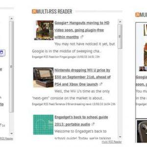 Multi RSS Reader