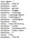 Multipart robots.txt editor