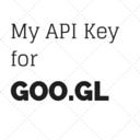 My API Key for Goo.gl