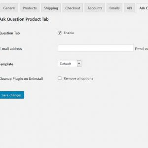 NextPlugins WooCommerce Ask Question Tab