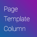 Page Template Column