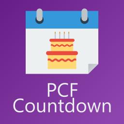 PCF Birthday Countdown