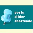 Posts Slider Shortcode