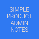 Product Admin Notes Simple