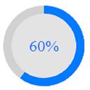 Pure CSS Circle Progress bar