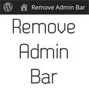 Remove Admin Bar