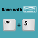 Save with keyboard