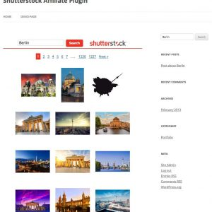 Shutterstock Affiliate Plugin