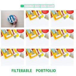 Simple Filterable Portfolio