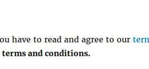 BuddyPress Simple Terms And Conditions