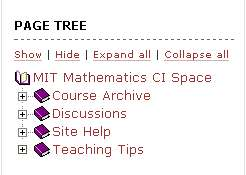 Site Page Tree