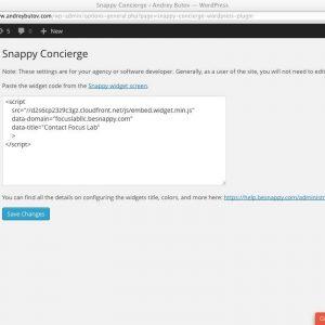 Snappy Concierge