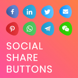 Social Share Buttons – Modern Social Media Share Icons & Floating Share Buttons