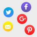 Social Share With Floating Bar