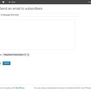 Subscribe2 – Form