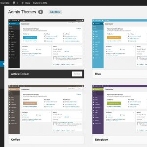 The Admin Theme Experience