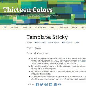 Thirteen Colors
