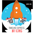 Timeline Express – No Icons Add-On