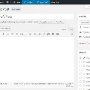 Toolbar Publish Button