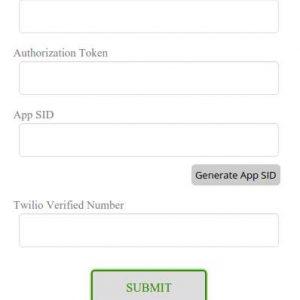 Twilio Simple Click Call