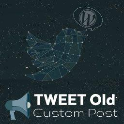 Tweet Old Custom Post