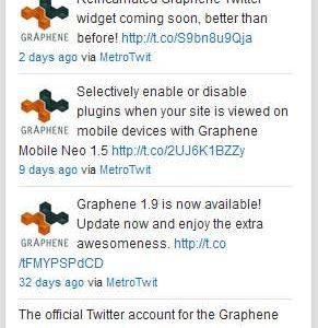Twiget Twitter Widget