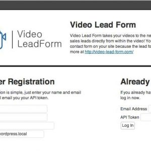 Video Lead Form