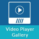 Video Player Gallery with Responsive